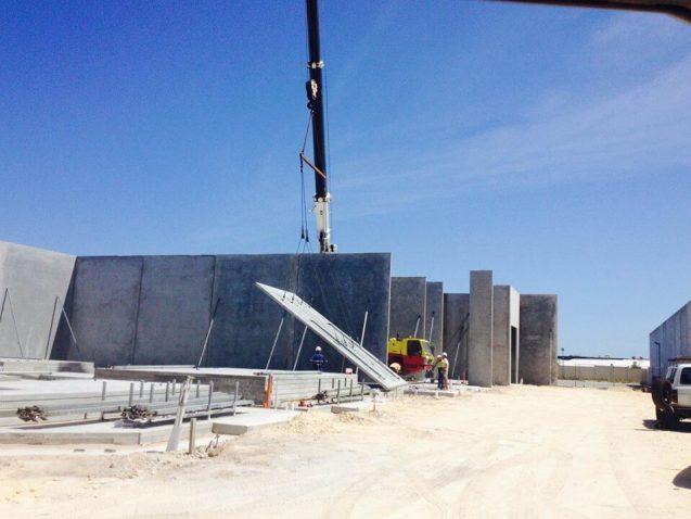 Preformed Concrete Building Construction : Tilt up and precast concrete construction innovative